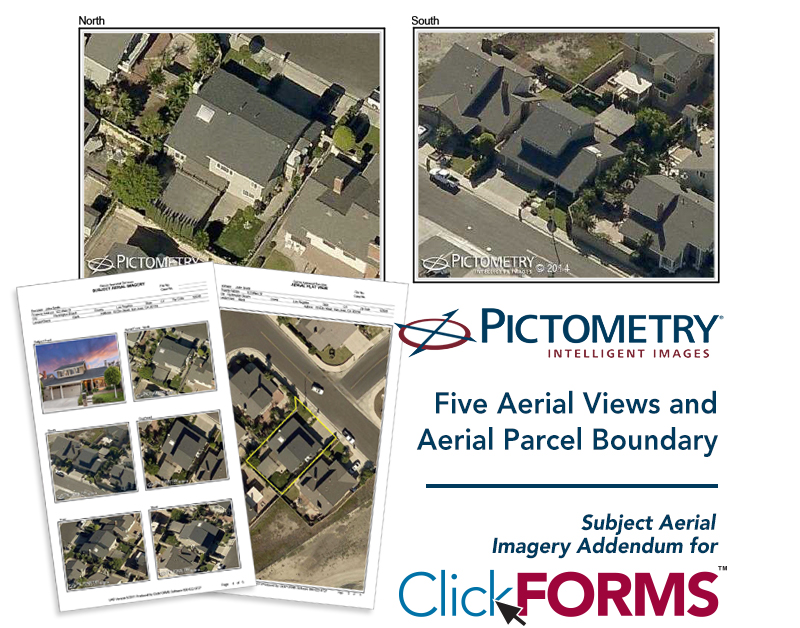 Pictometry Aerial Images for ClickFORMS