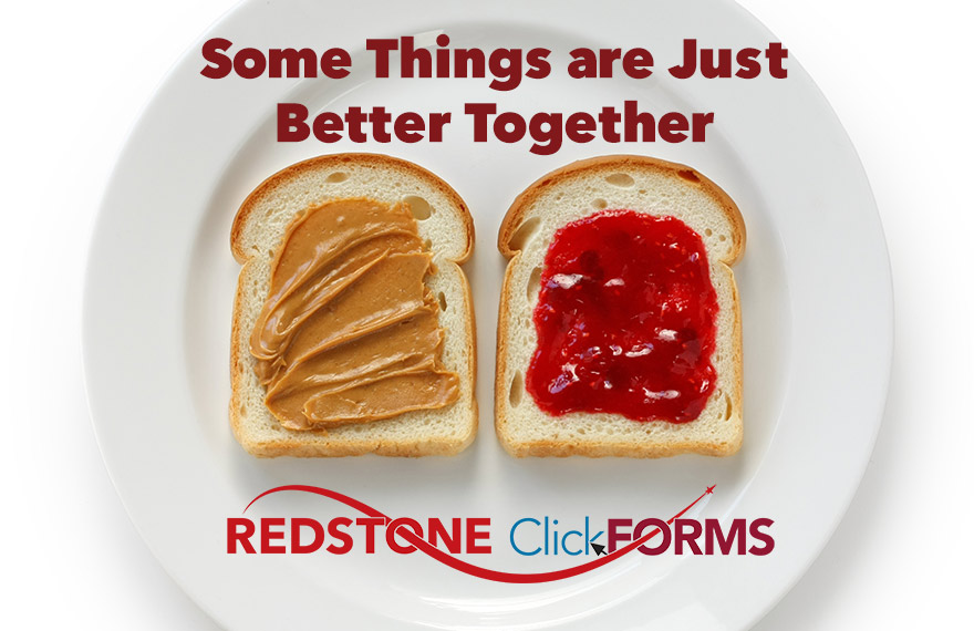 ClickFORMS and Redstone are better together