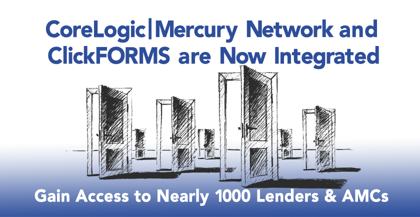 CoreLogic | Mercury Network and ClickFORMS are Now Integrated