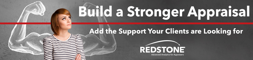 Support your Appraisal with Redstone